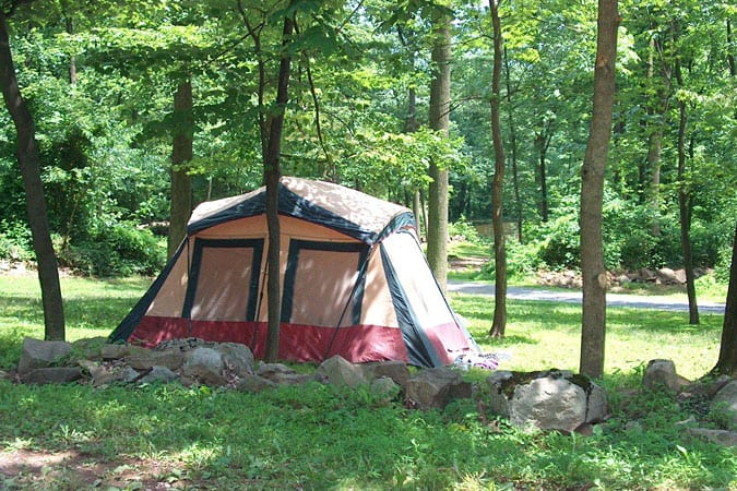 Tent Camping Site