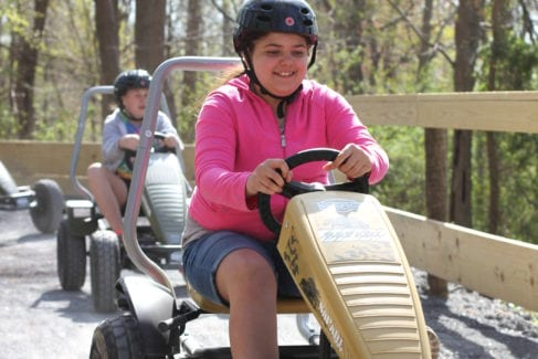 Pedal Carts_School Group_Spring_Children